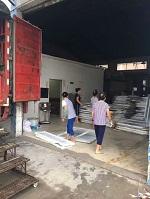生产实拍 铝单板吊顶打包发货