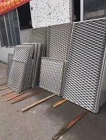 拉网铝板做货实拍