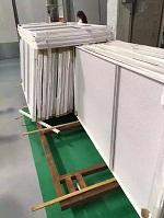 聚酯油漆铝单板做货实拍