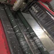 雕刻铝板上机做货