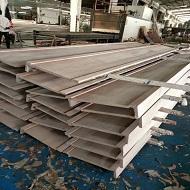 铝板做木纹处理实拍