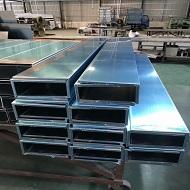 吊顶铝单板成型中