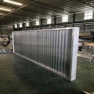 2.0厚铝单板成型中